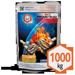 ekoGroszek ekoPROMETEUSZ pakowany 40 x 25kg : 1.000 kg /  węgiel kamienny