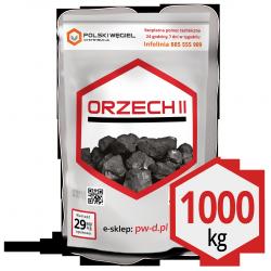 """WĘGIEL """"ORZECH II"""" pakowany 25kg /  węgiel kamienny CN2701 C"""