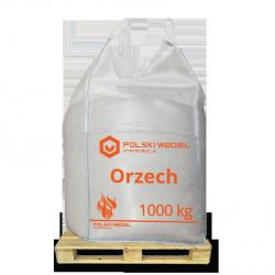 """WĘGIEL """"ORZECH"""" bigbag 1t / węgiel kamienny P"""