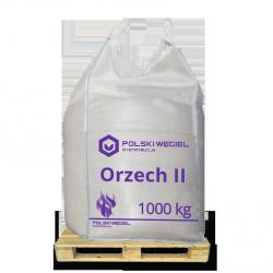 """WĘGIEL """"ORZECH II"""" bigbag 1t / węgiel kamienny F"""