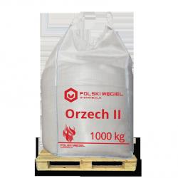 """WĘGIEL """"ORZECH II"""" bigbag 1t /  węgiel kamienny CN2701 C"""