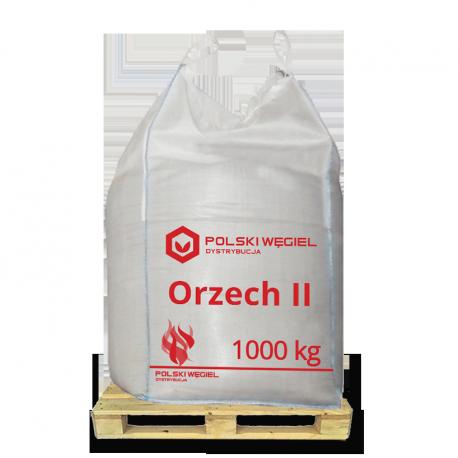 """WĘGIEL """"ORZECH II"""" bigbag 1t /  węgiel kamienny CN2701 W"""