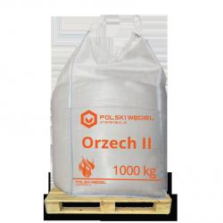 """WĘGIEL """"ORZECH II"""" bigbag 1t / węgiel kamienny"""